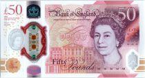 United Kingdom 50 Pounds Elisabeth II - Allan Turing - 2020 (2021) - UNC