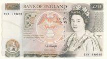United Kingdom 50 Pounds Elisabeth II - Sir Wren - ND (1993) - UNC - P.381c