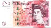 United Kingdom 50 Pounds Elizabeth II - M. Boulton - James Watt - 2010 - UNC - P.393