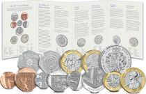 United Kingdom Annual Coin set 2021 - 13 coins
