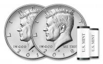 United States of America $½ 2018D J.F. Kennedy - Denver