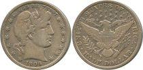 United States of America 1/2 Dollar Liberty, Barber
