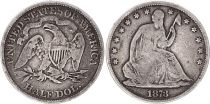 United States of America 1/2 Dollar Liberty seated - Eagle - 1873