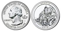 United States of America 1/4 Dollar Acadia Park