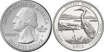 United States of America 1/4 Dollar Bombay Hook - 2015 P Philadelphia