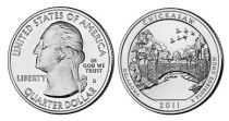 United States of America 1/4 Dollar Chikasaw