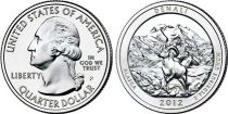 United States of America 1/4 Dollar Denali - D Denver