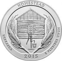 United States of America 1/4 Dollar Homestead - 2015 P Philadelphia