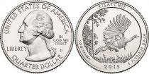 United States of America 1/4 Dollar Kisatchie - 2015 P Philadelphia
