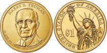 United States of America 1 Dollar Harry Truman - 2015 D Denver