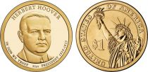 United States of America 1 Dollar Herbert Hoover - 2014 D Denver