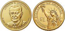 United States of America 1 Dollar Lyndon Johson - 2015 D Denver