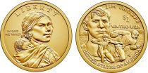 United States of America 1 Dollar Native American - Jim Thorpe 2018 D Denver