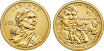 United States of America 1 Dollar Native American - Jim Thorpe 2018 P Philadelphia