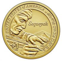 United States of America 1 Dollar Native American - Sequoyah 2017 D Denver