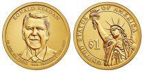 United States of America 1 Dollar Ronald Reagan - 2016 D Denver