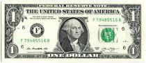 United States of America 1 Dollar Washington - 2013 - F6 Atlanta