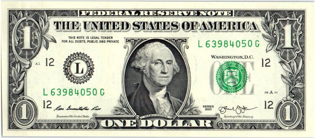 Resultado de imagen para 1 dollar