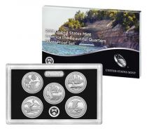 United States of America Beautiful Quarters Silver Proof set 2018 - 5 coins