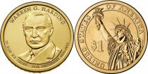 United States of America KM.571 1 Dollar, Harding - 2014 P Philadelphia
