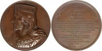 United States of America Thierri II dit de Chelles  - King of France serial by Caqué - 1840