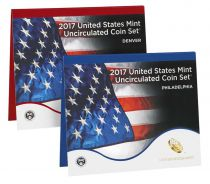 United States of America Uncirculated Coin Set 2017 - 20 coins D and P