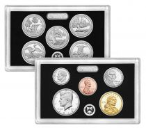 United States of America USA Complete Silver Proof Set 2018S - 10 coins