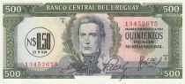 Uruguay 0.5 Nuevos Pesos on 500 Pesos, Jose Gervasio Artigas- 1975 - UNC - P.54