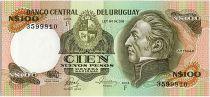 Uruguay 100 Nuevos Pesos, Jose Gervasio ARTIGAS - 1986