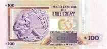 Uruguay 100 Pesos Urugayos Urugayos, Eduardo Fabini