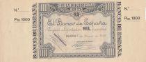Uruguay 1000 Pesetas 1937 - Bilbao