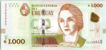 Uruguay 1000 Pesos Urugayos, Juana de Ibarbourou - 2015 (2017)