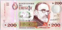 Uruguay 200 Pesos Urugayos Urugayos, Pedro Figari - 2011
