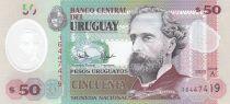 Uruguay 50 Pesos José Pedro Varela - 2020 - Polymer - UNC