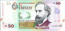 Uruguay 50 Pesos Urugayos, José Pedro Varela - 2015 (2017)