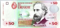 Uruguay 50 Pesos Urugayos Urugayos, José Pedro Varela - 2011
