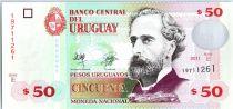 Uruguay 50 Pesos Urugayos Urugayos, Jose Pedro Varela - 2011
