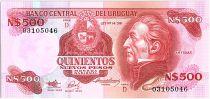 Uruguay 500 Nuevos Pesos, Jose Gervasio ARTIGAS - 1991