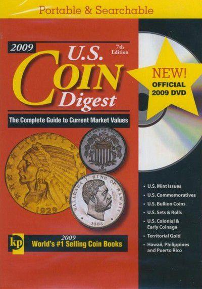 U.S. Coin Digest (DVD) 2009 - 7th Ed.