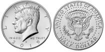 USA 1/2 $ J.F. Kennedy - D Denver - 2019