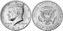 USA 1/2 $ J.F. Kennedy - P Philadelphie - 2021