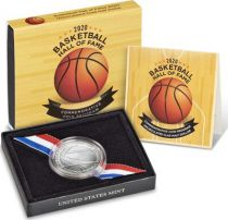 USA 1/2 Dollar Basket Ball - 2020 D Denver - Hall of Fame Uncirculated