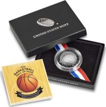 USA 1/2 Dollar Basket Ball - 2020 S San Francisco - Hall of Fame Proof