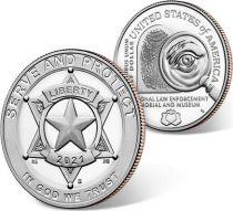 USA 1/2 Dollar Serve and Protect - 2021 - San Francisco - Proof