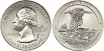 USA 1/4 Dollar Block Island - D Denver - 2018