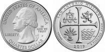 USA 1/4 Dollar San Antonio Missions - P Philadelphia - 2019