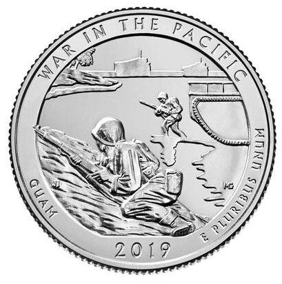 USA 1/4 Dollar War in Pacific - P Philadelphie - 2019