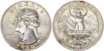 USA 1/4 Dollar Washington - 1932-1964 - Silver