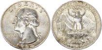 USA 1/4 Dollar Washington - Années variées 1932-1964 - Argent