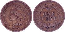 USA 1 Cent Indian Head 1872 - VF